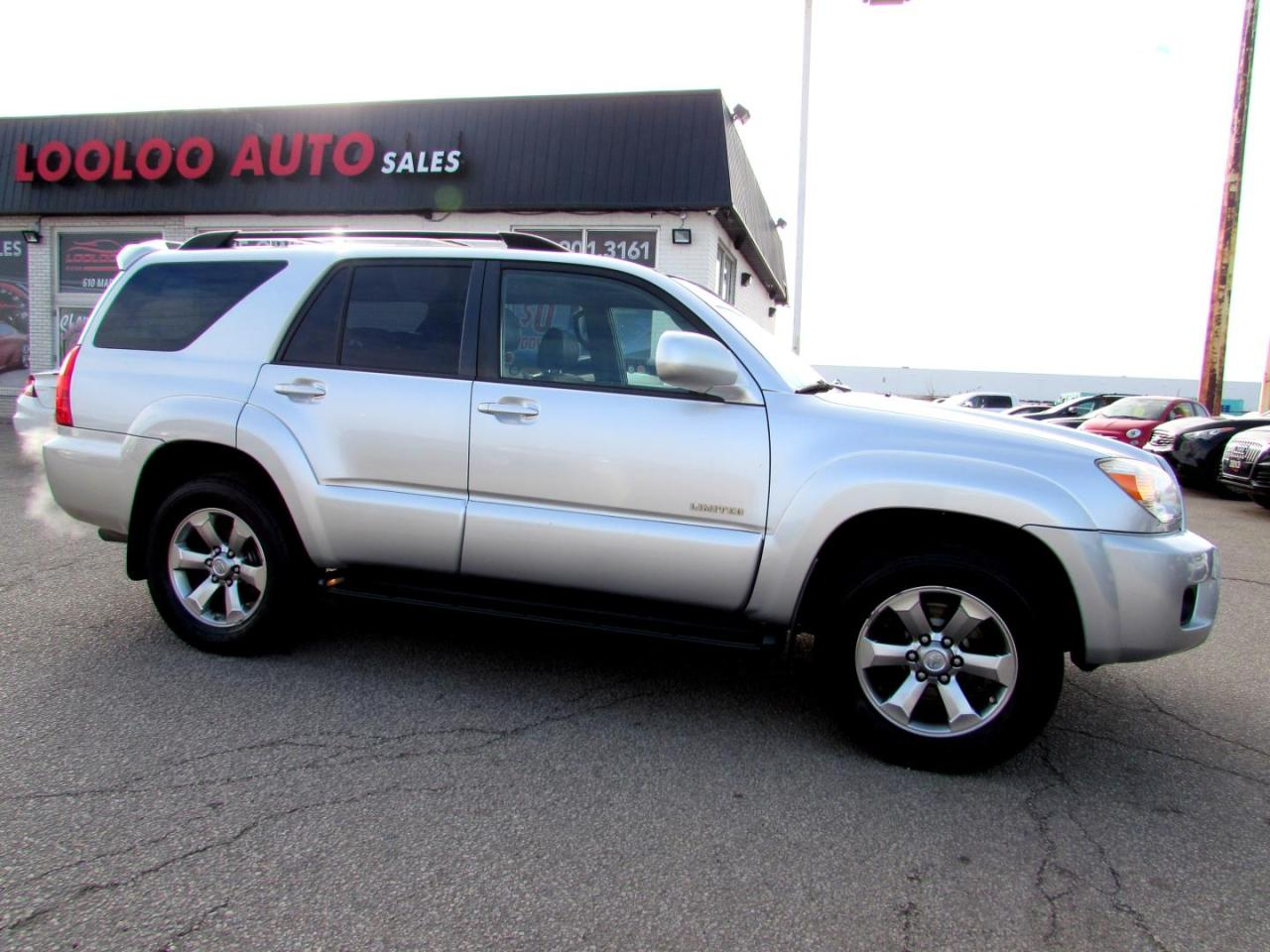 Used 2008 Toyota 4runner Limited 4wd V8 4 7l Sunroof Certified 2yr