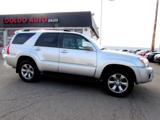Used 2008 Toyota 4Runner LIMITED 4WD V8 4.7L SUNROOF CERTIFIED 2YR WARRANTY for sale in Milton, ON