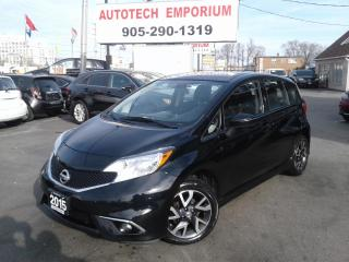 Used 2015 Nissan Versa Note 1.6 SR Camera/Bluetooth/Keyless &GPS* for sale in Mississauga, ON
