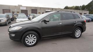 Used 2008 Mazda CX-9 GT AWD 7 Passengers Navi Camera Leather Sunroof Alloy Memory Heated Seats for sale in Milton, ON