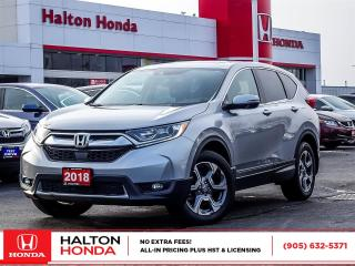 Used 2018 Honda CR-V EXL|SERVICE HISTORY ON FILE for sale in Burlington, ON