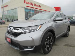 Used 2017 Honda CR-V Touring, HONDA CERTIFIED! for sale in Brampton, ON