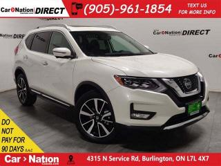 Used 2018 Nissan Rogue SL| AWD| LEATHER| PANO ROOF| NAVI| for sale in Burlington, ON