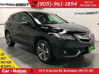 Used 2016 Acura RDX w/Elite Package| NAVI| SUNROOF| PARKING SENSORS| for sale in Burlington, ON