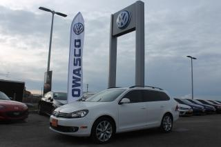Used 2013 Volkswagen Golf 2.0 TDI Highline (A6)   Power Sunroof!! for sale in Whitby, ON