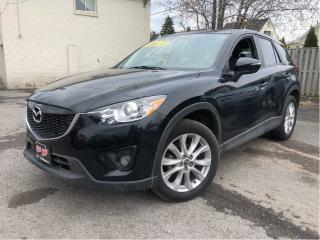 Used 2015 Mazda CX-5 GT AWD |Leather| Sunroof| Navigation for sale in St Catharines, ON
