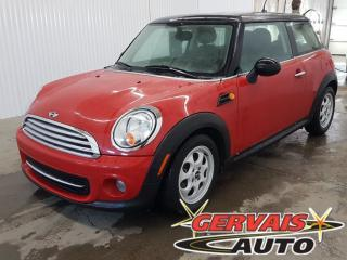 Used 2012 MINI Cooper Cuir A/c Mags for sale in Shawinigan, QC