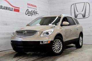 Used 2010 Buick Enclave CX AWD for sale in Blainville, QC