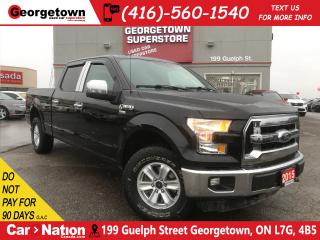 Used 2015 Ford F-150 XLT | 5.0L | 4x4 | 6 PASS | TOW PKG | CHROME PKG for sale in Georgetown, ON