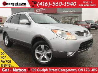 Used 2008 Hyundai Veracruz GLS | V6 | AWD | DVD | 7 PASS | LEATHER | SUNROOF for sale in Georgetown, ON