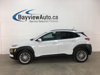 Used 2018 Hyundai KONA 2.0L Preferred - HTD FRONT & REAR LTHR! BLUETOOTH! REVERSE CAM! BSA! RCTA! SUNROOF! for sale in Belleville, ON