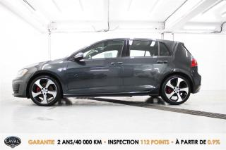 Used 2016 Volkswagen Golf GTI MAN + CUIR + GPS for sale in Quebec, QC