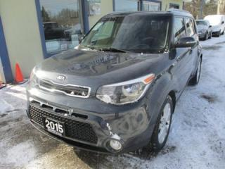 Used 2015 Kia Soul GAS SAVING EX-GDI MODEL 5 PASSENGER 2.0L - DOHC.. HEATED SEATS.. ACTIVE-ECO MODE.. BLUETOOTH.. KEYLESS ENTRY.. for sale in Bradford, ON