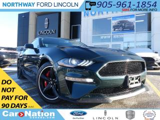 Used 2019 Ford Mustang BULLITT | NAV | RECARO LEATHER | REAR CAM | V8 | for sale in Brantford, ON