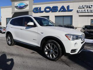 Used 2015 BMW X3 xDrive28d DIESEL NAV. PANOR ROOF. for sale in Ottawa, ON