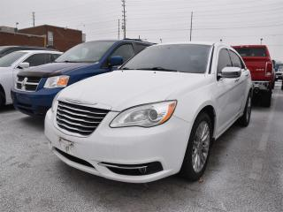 Used 2012 Chrysler 200 Limited NAVIGATION/LEATHER/SUNROOF for sale in Concord, ON