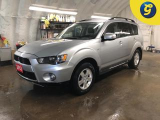 Used 2013 Mitsubishi Outlander LS * AWC * 7 Passenger * Trailer hitch * Heated front seats * Reverse camera * Hands free steering wheel controls * Voice recognition * Phone connect for sale in Cambridge, ON