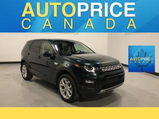Used 2016 Land Rover Discovery Sport HSE 7PASS|NAVIGATION|PANOROOF|LEATHER for sale in Mississauga, ON