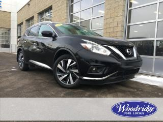Used 2017 Nissan Murano Platinum ***PRICE REDUCED*** 3.5L V6, PLATINUM EDITION, NAVIGATION, SUNROOF, LEATHER SEATS, NO ACCIDENTS. for sale in Calgary, AB