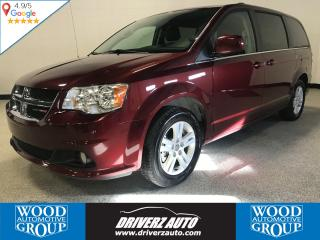 Used 2018 Dodge Grand Caravan Crew ACCIDENT FREE! LEATHER, POWER DOORS AND LOTS MORE ... for sale in Calgary, AB