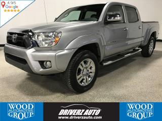 Used 2014 Toyota Tacoma V6 ONE OWNER, CLEAN CARFAX, LIMITED TRIM for sale in Calgary, AB