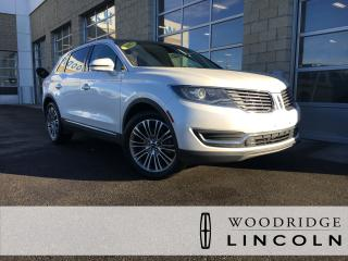 Used 2016 Lincoln MKX Reserve 3.7L, NAVIGATION, SUNROOF, ADAPTIVE CRUISE, LANE KEEP, NO ACCIDENTS for sale in Calgary, AB