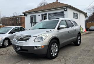 Used 2008 Buick Enclave CXL AWD 7 PASS PANO ROOF LEATHER NO ACCIDENT for sale in Mississauga, ON