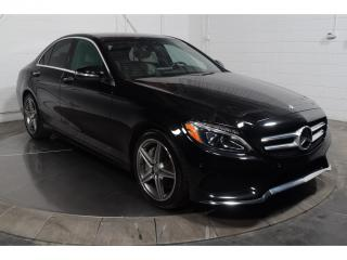 Used 2015 Mercedes-Benz C-Class C400 AWD CUIR TOIT for sale in St-Hubert, QC