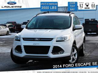 Used 2014 Ford Escape Se Cuir Toit Pano for sale in Victoriaville, QC