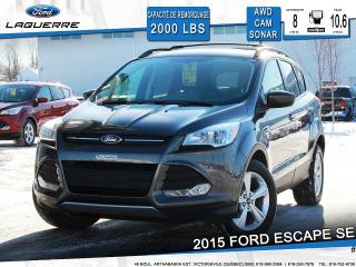 Used 2015 Ford Escape Se Cam Sonar Awd for sale in Victoriaville, QC