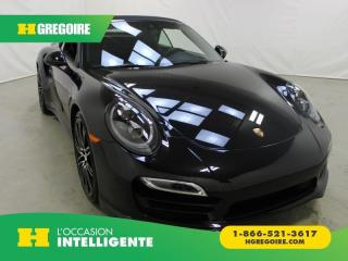 Used 2015 Porsche 911 TURBO A/C GR for sale in St-Léonard, QC