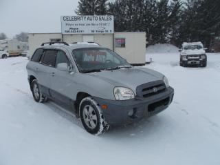 Used 2006 Hyundai Santa Fe GLS AWD for sale in Elmvale, ON