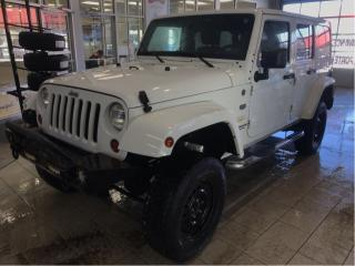 Used 2011 Jeep Wrangler SAHARA 4X4 for sale in Québec, QC
