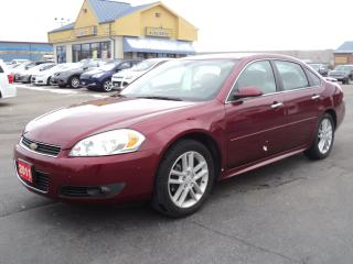 Used 2011 Chevrolet Impala LTZ 3.9L LeatherHeatedSeats RemoteStart MoonRoof for sale in Brantford, ON