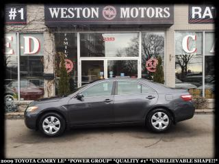 Used 2009 Toyota Camry LE*POWER GROUP*QUALITY#1*UNBELIEVABLE SHAPE!!* for sale in Toronto, ON
