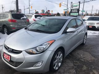Used 2013 Hyundai Elantra Limited l One Owner l Heated Rear Seats for sale in Waterloo, ON