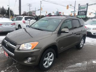 Used 2011 Toyota RAV4 LTD l Leather l Back Up Cam l Heated Seats for sale in Waterloo, ON