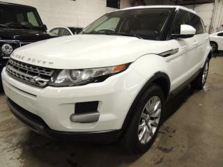 Used 2015 Land Rover Range Rover Evoque PURE, PANORAMIC ROOF, LEATHER, BACK UP SENSORS for sale in Mississauga, ON