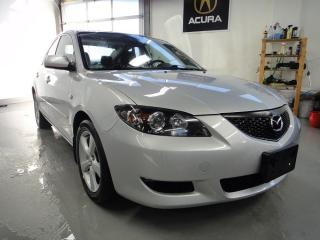 Used 2006 Mazda MAZDA3 GX,VERY CLEAN,SUN ROOF SERVICE RECORDS for sale in North York, ON