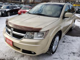 Used 2010 Dodge Journey R/T AWD/7 Passenger/Leather/Bk-up Cam/Leather/Roof for sale in Scarborough, ON