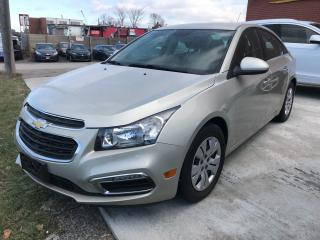 Used 2015 Chevrolet Cruze 1LT BACK UP CAM | BLUETOOTH for sale in Brampton, ON