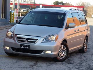 Used 2007 Honda Odyssey TOURING,NO-ACCIDENTS,NAV,REARCAM,LEATHER,DVDPLAYER for sale in Mississauga, ON