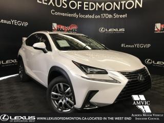 New 2019 Lexus NX 300 Luxury Package for sale in Edmonton, AB