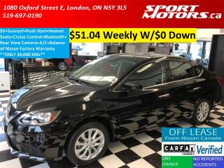 Used 2016 Nissan Sentra SV+Camera+Sunroof+Heated Seats+Bluetooth+A/C for sale in London, ON