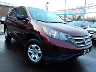 Used 2013 Honda CR-V LX AWD | BACK UP CAMERA | HEATED SEATS | R.STARTER for sale in Kitchener, ON