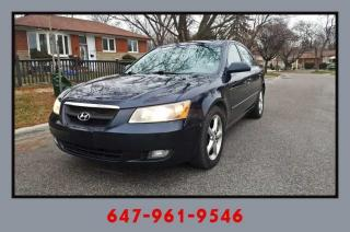 Used 2006 Hyundai Sonata GL for sale in Mississauga, ON