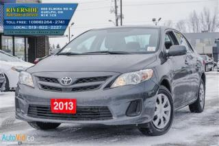 Used 2013 Toyota Corolla L for sale in Guelph, ON