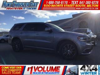 Used 2018 Dodge Durango GT | AWD | DVD | NAV | PARK ASSIST & MORE!!! for sale in Milton, ON