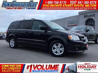 Used 2016 Dodge Grand Caravan CREW PLUS/LEATHER/NAV/DVD/HTS STS & MORE!!! for sale in Milton, ON