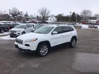Used 2018 Jeep Cherokee Limited for sale in Mitchell, ON